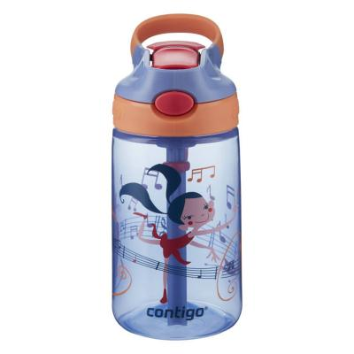 Contigo Gizmo Kids Drink Bottle Flip Autospout 420ml | Wink Dancer | Leak Proof
