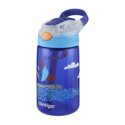 Contigo Gizmo Kids Drink Bottle Flip Autospout 420ml | Yacht | Leak Proof