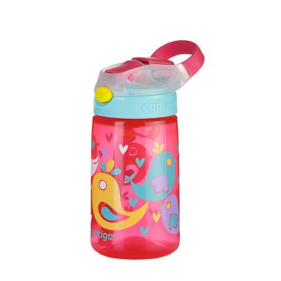Contigo Gizmo Kids Drink Bottle Flip Autospout 420ml | Birds | Leak Proof