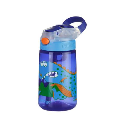Contigo Gizmo Kids Drink Bottle Flip Autospout 420ml |  Dinosaur | Leak Proof