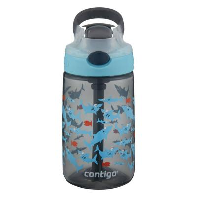 Contigo Gizmo Kids Drink Bottle Flip Autospout 420ml | Shark | Leak Proof