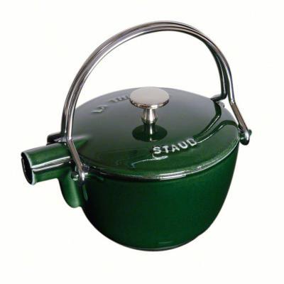 Staub  - Round Teapot/Kettle - 1.15L Basil Green