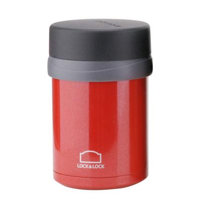 Lock & Lock - Food Flask - Red 500ml