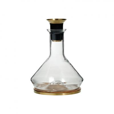 RBT - Decanter with Wooden Coaster and Aerator 2L
