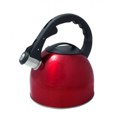 Cuisena - 2.5 litre Whistling Kettle - Red