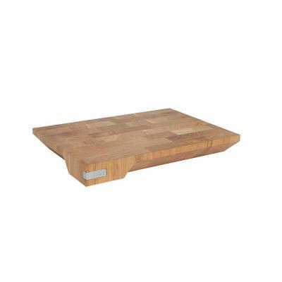 Furi Pro Chop & Transfer Chopping Board Medium   Ash Hardwood Made   Non Slip