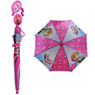 Disney Frozen Umbrella with Elsa & Anna Handle Girls Umbrella