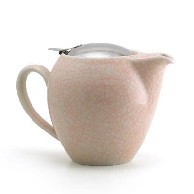 Zero Japan Orange Artisan Crackle Universal Teapot 580ml