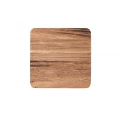 Ironwood Oslo Long Grain Square Utility Wooden Cutting Board |Brown | 30.5 x 30.5 x 2.5cm