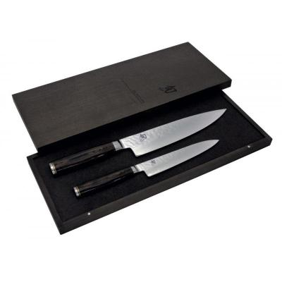 Shun Premier 2 Piece Knife Set | 20cm Chef + 16.5cm Utility Knife