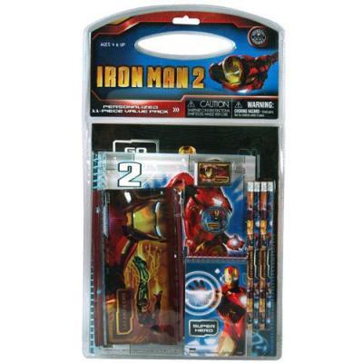 Iron Man 11 Piece Stationery Set Boys School Stationery New Licensed