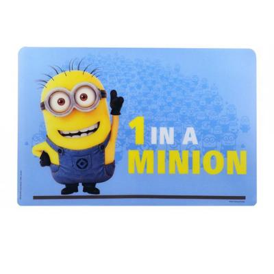 Minions Placemat PBA Free Despicable Me Minion Dinner Placemat New Licensed
