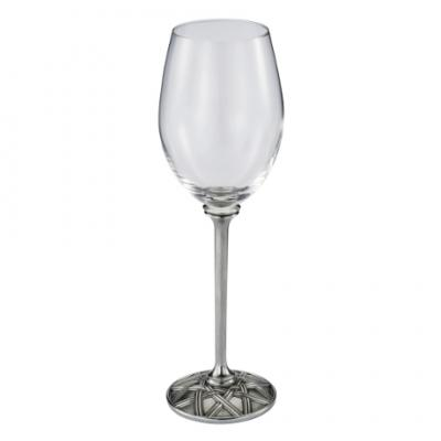 Royal Selangor Wicker White Wine Goblet