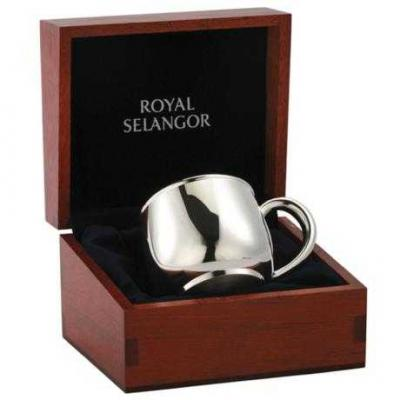 Royal Selangor Baby Mug in Wooden Gift Box