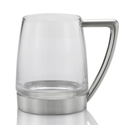 Royal Selangor Modern Glass Bottom Tankard