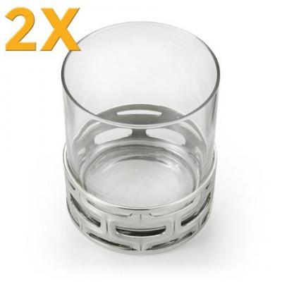 2x Royal Selangor Cell Whisky Tumbler