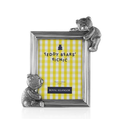 Royal Selangor Teddy Bears' Picnic Rectangular Photoframe