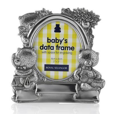 Royal Selangor Baby's Data Photoframe
