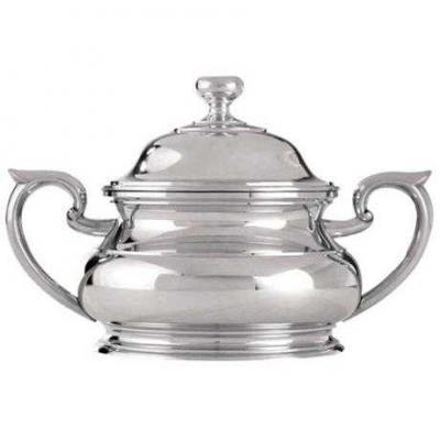 Royal Selangor Sovereign Sugar Bowl with Lid