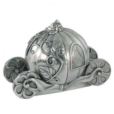 Royal Selangor Cinderella Bookends & Coin Box