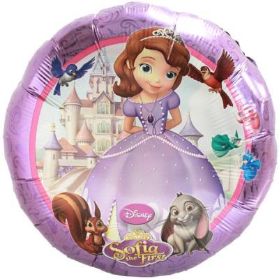 Sofia the First Foil Helium Balloon