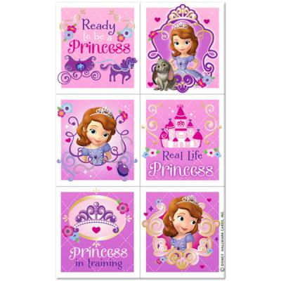 Sofia the First Stickers - 24 Pack
