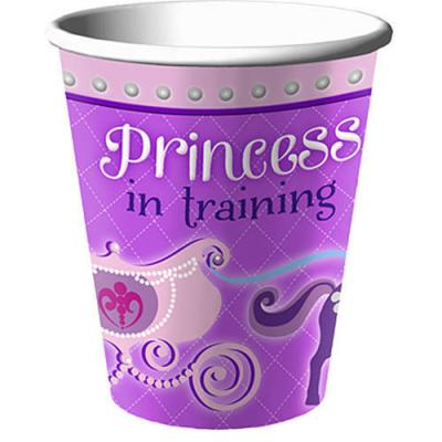 Sofia the First Paper Party Cups - 8 Pack