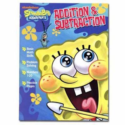 Spongebob Squarepants Workbook Addition & Subtraction