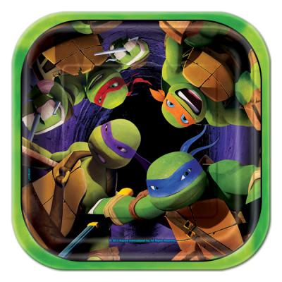 Teenage Mutant Ninja Turtles Small Paper Plates - 8 Pack