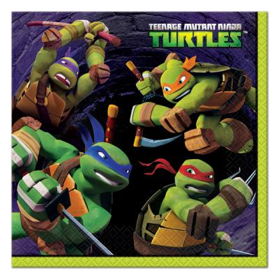 Teenage Mutant Ninja Turtles Luncheon Napkins / Serviettes