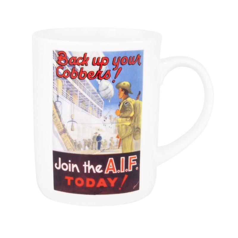 Ashdene Classic Wartime Collection Mug - AIF