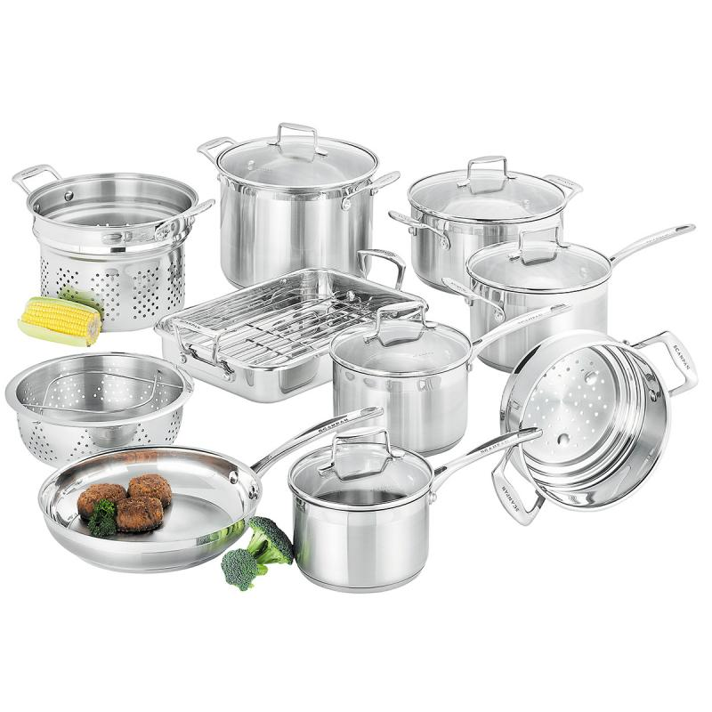 Scanpan Impact 10pcs Cookware Set