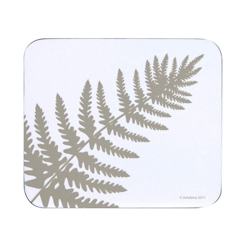 Ashdene Abode White Fern Coasters