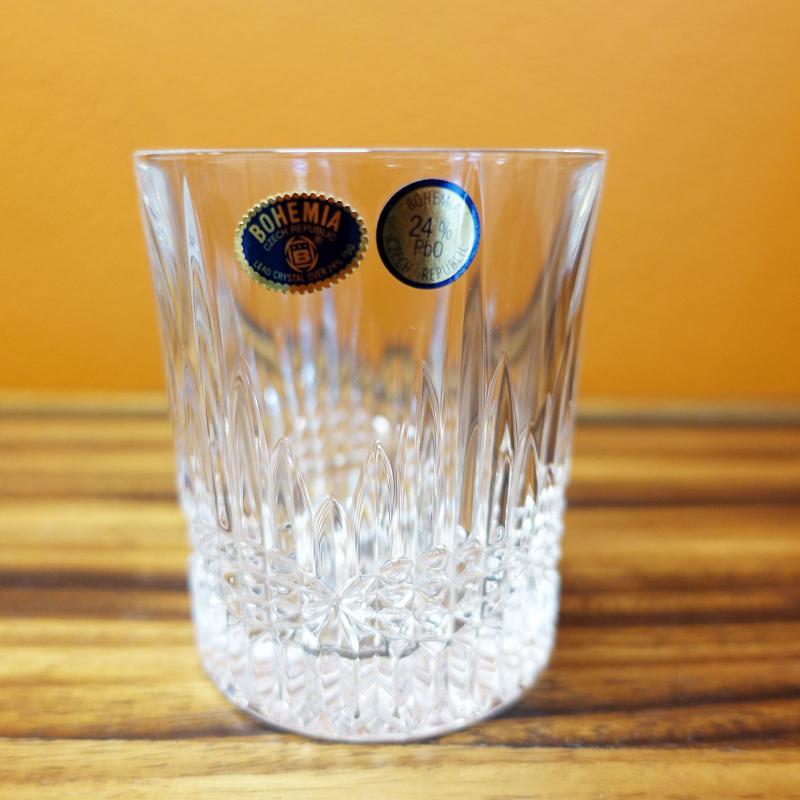 Bohemia Crystal BEDFORD Old Fashion Tumbler 300ml 6pcs Whiskey Glasses