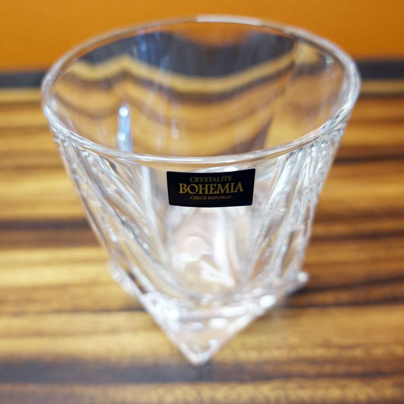 Bohemia Crystal Quadro Old Fashion Tumbler Set 6pcs