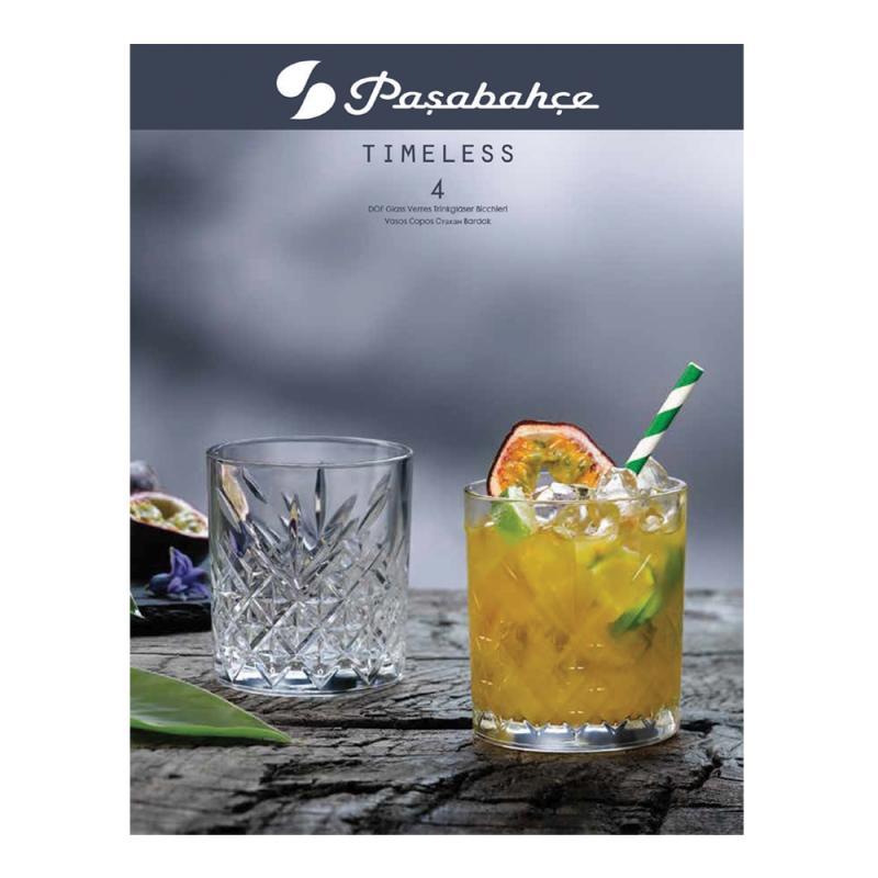 Pasabahce Timeless DOF 345ml Set of 4