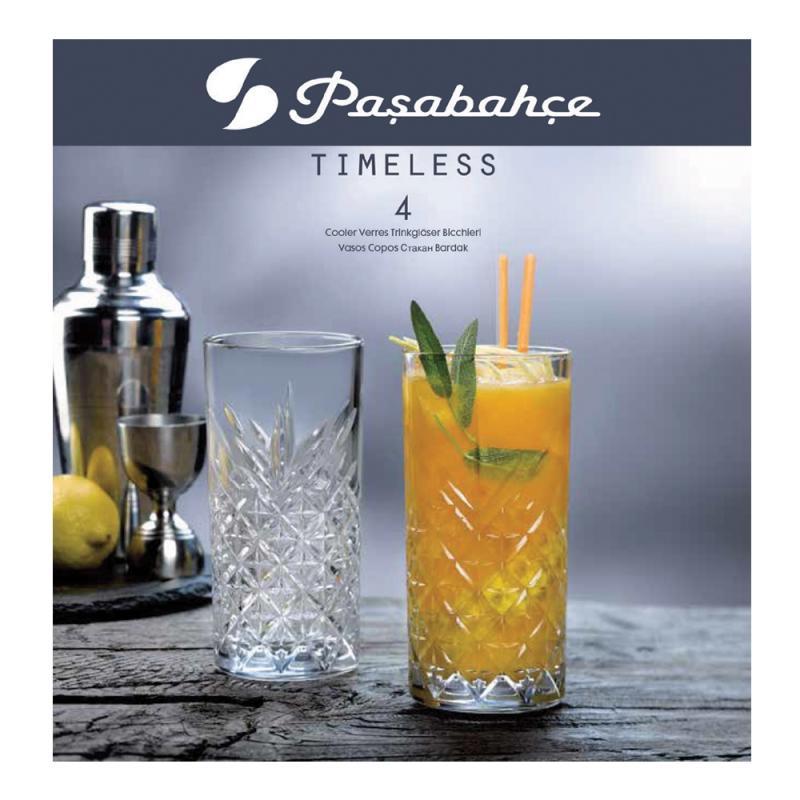 Pasabahce Timeless Hi Ball 450ml Set of 4