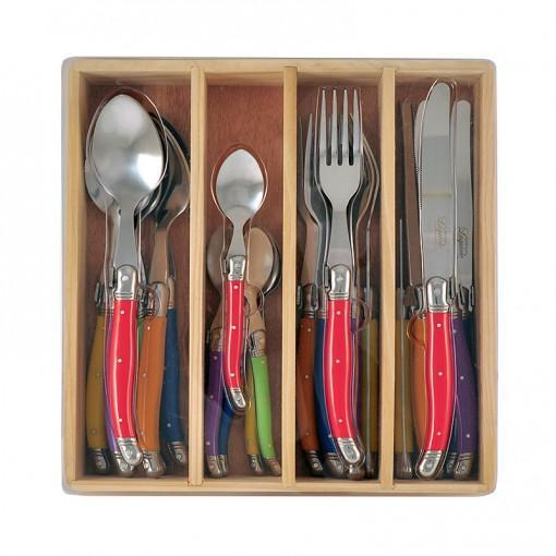 Chateau Laguiole 24pcs Cutlery Set Multi Colour