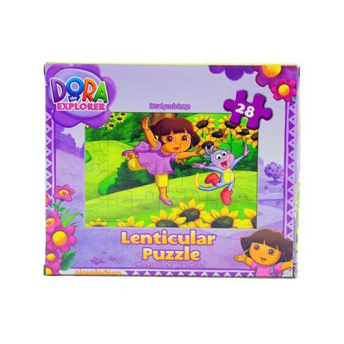 Dora the Explorer Jigsaw Puzzle 3D design Dora & Boots 28