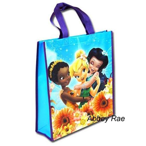 Disney Fairies Tote Bag Tinkerbell Library bag swimming bag New ... 7adca52fcf53f