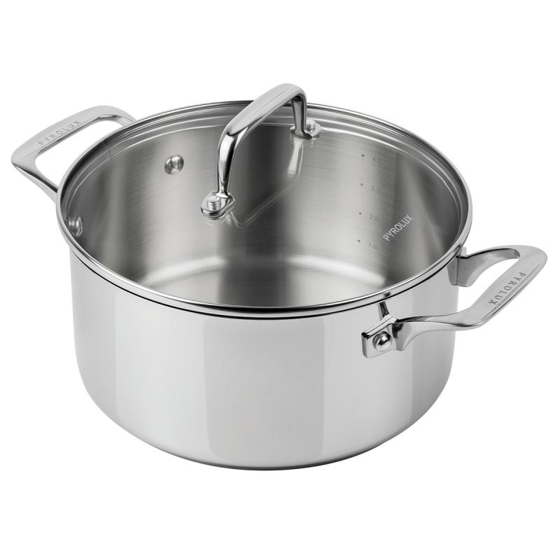 Pyrolux Pyrosteel 24cm Dutch Oven Pot with Lid