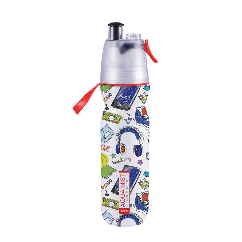 Avanti Aqua Mist Insulated Water Bottle - Red
