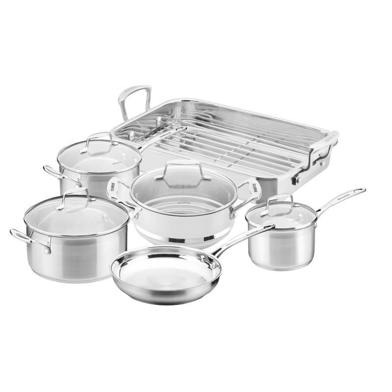 Scanpan Impact 6 Piece Cookware Set with Roaster