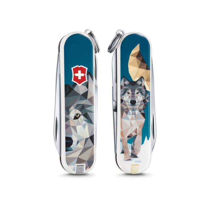 Victorinox Classic SD The Wolf Pocket Swiss Army knife