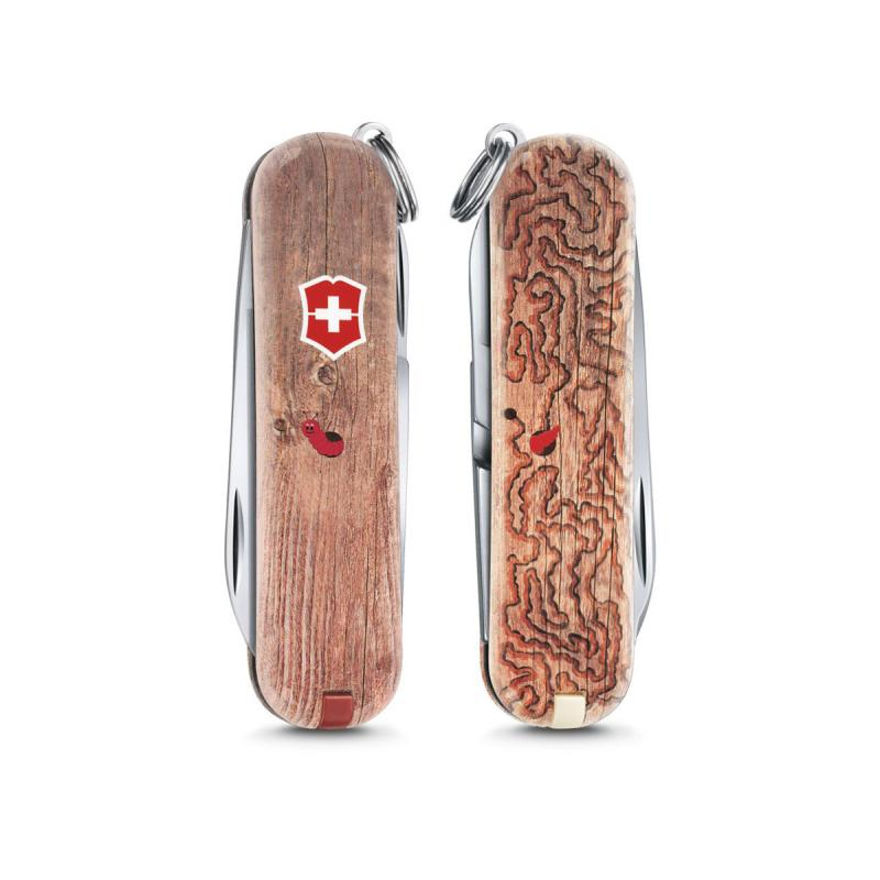 Victorinox Classic SD Woodworm Pocket Swiss Army knife