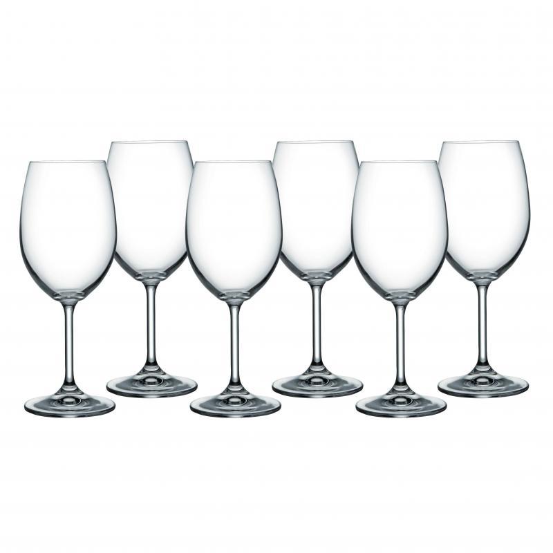 Bohemia Lara Wine Glass Set Of 6 - 450ml