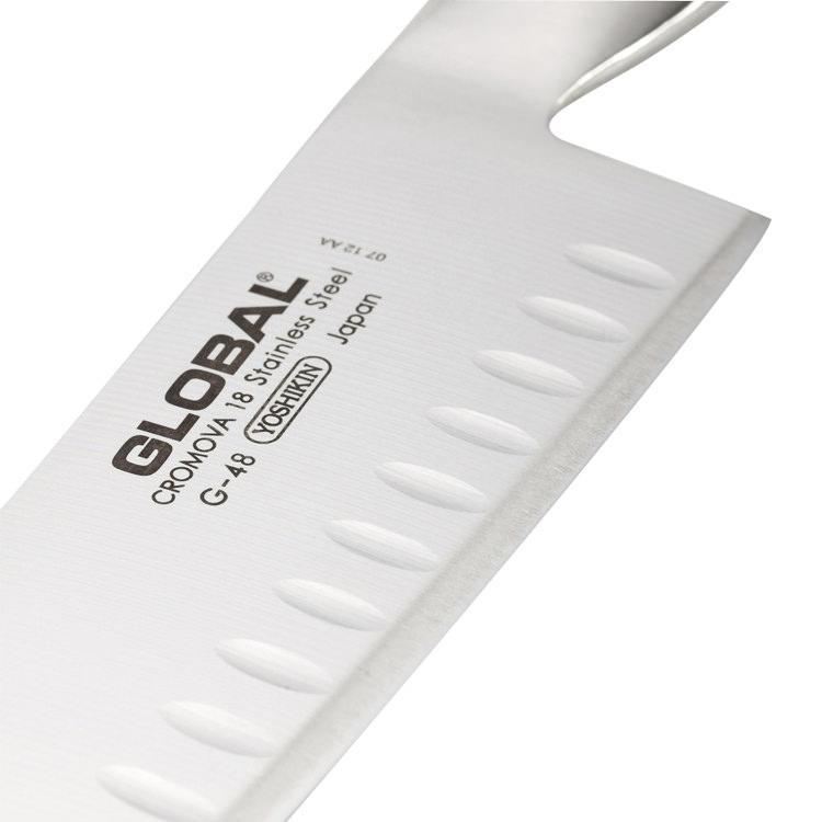 Global Knives Santoku Fluted Blade G-80 18cm