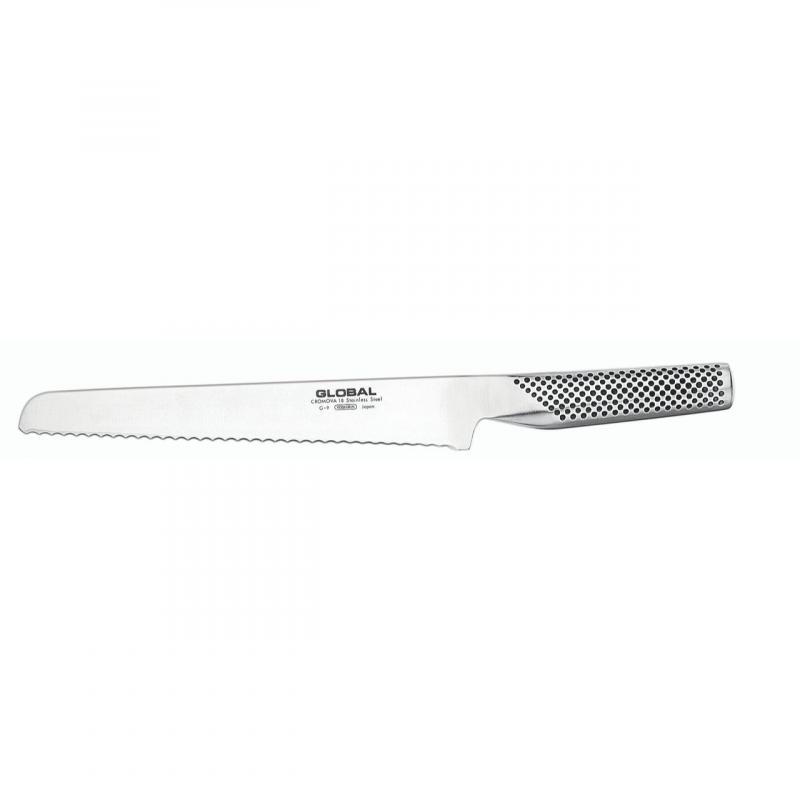 Global Knives Bread Knife 22cm G-9
