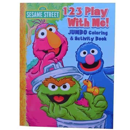 Sesame Street Kids Colouring Activity Book Oscar Grover New Licensed