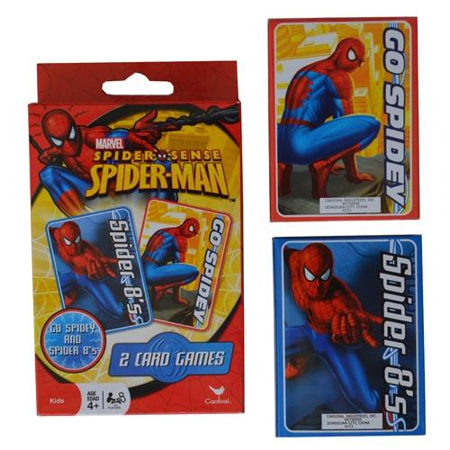 Spiderman Card Games Boys Spider Man Go Fish Crazy Eights Cards New